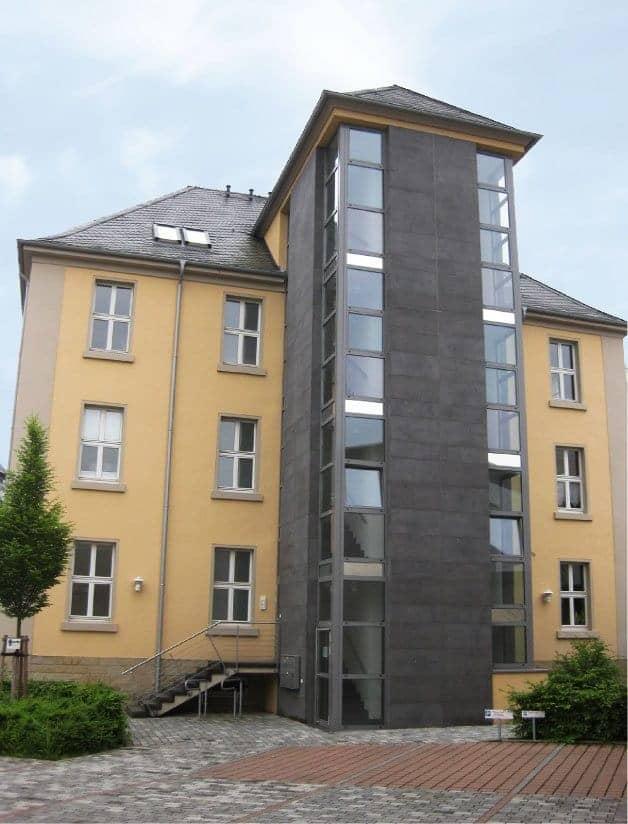 Gebäudesanierung Amtsgericht Saarlouis, BannwegBau Saarlouis