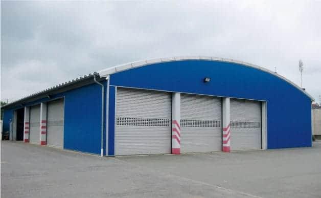 Hallenbau Bannwegbau Bauunternehmen Saarlouis