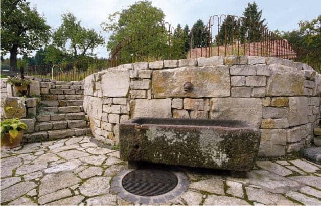 Mauern und Treppen aus Natursteinen, Bauunternehmen Saarlouis