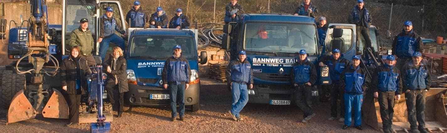 BannwegBau Bauunternehmen Saarlouis